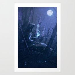 In Her Memory Art Print