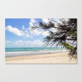 Tropical Beach Paradise Canvas Print