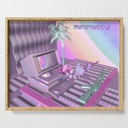 Vaporwave Serving Tray