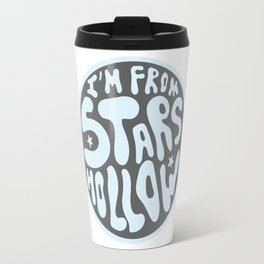 I'm From Stars Hollow in gray and blue Travel Mug
