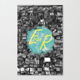 Evan Rivas Design Locks Canvas Print