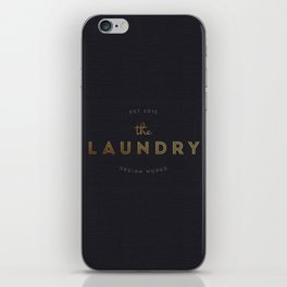 The Laundry iPhone Skin