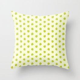 apple dots Throw Pillow