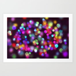 magic spots Art Print