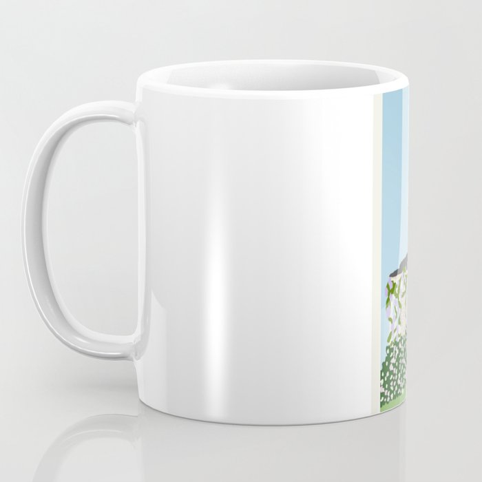 Gilmore house in spring Coffee Mug
