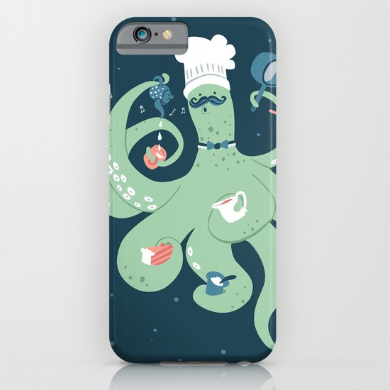 The Octopus Chef iPhone & iPod Case
