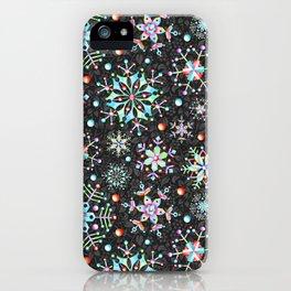 Snowflake Filigree iPhone Case