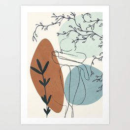 Breeze I Art Print