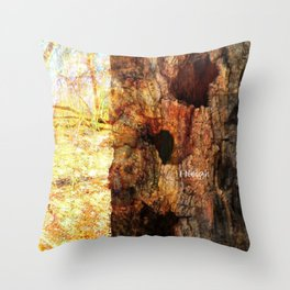 A Giving Tree Throw Pillow