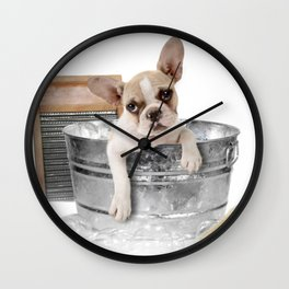 Rub-a-dub-dub Wall Clock
