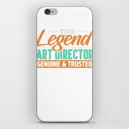 Legend Art Director Genuine & Trusted iPhone Skin