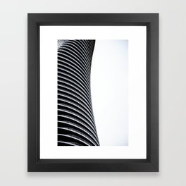 Abstract Architecture Curves Framed Art Print