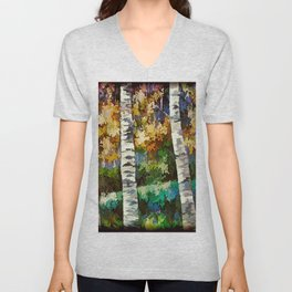 Enchanted Forest Unisex V-Neck