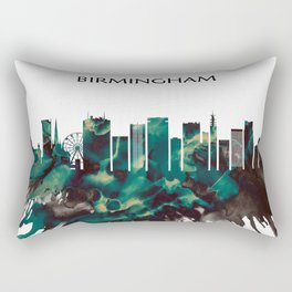 Birmingham Skyline Rectangular Pillow