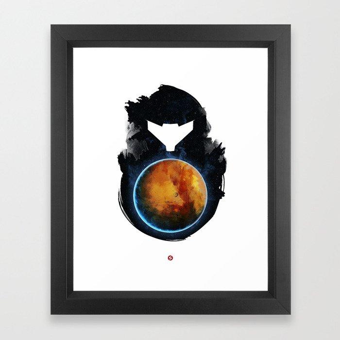Metroid Prime Framed Art Print