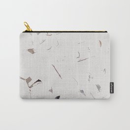 White Bricks Carry-All Pouch