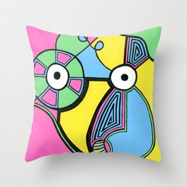 Print #5 Throw Pillow