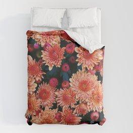 Fall floral Duvet Cover