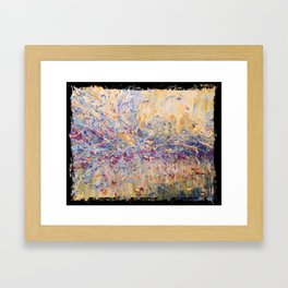 "126.5 GeV - The Higgs ""Dimension"" Framed Art Print"