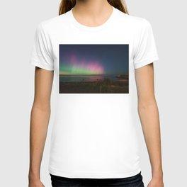 Pink Aurora at Old Garden Beach T-shirt