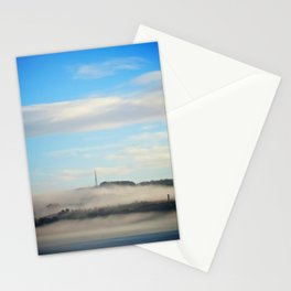 Fog rolling in... Stationery Cards