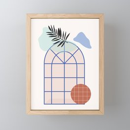 // Royal Gardens 02 Framed Mini Art Print