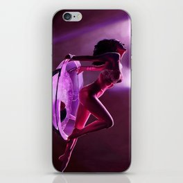 Midnight dancer iPhone Skin