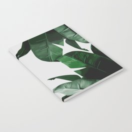 Banana Palm Leaves Notebook