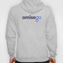 OmiseGo OMG Dark Blue Original Logo Hoody