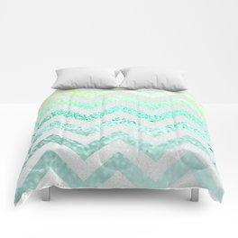FUNKY MELON SEAFOAM Comforters
