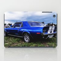 mustang iPad Cases featuring '68 Mustang by Catherine Doolan