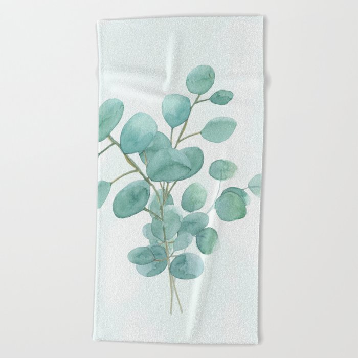 Dollar Tree Beach Towels.Eucalyptus Silver Dollar Beach Towel By Wheimay