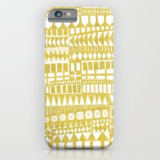 Golden Doodle abstract iPhone 6s Slim Case
