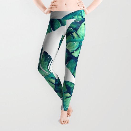 Tropical Glam #society6 #decor #buyart Leggings