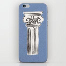 Greek ionic column iPhone Skin