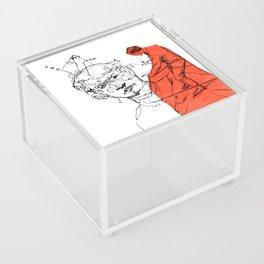 UpperCutCoverUp Acrylic Box