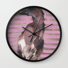 Daryl's Duck I Wall Clock