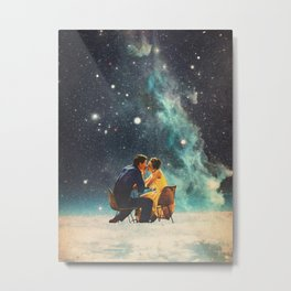 I'll Take you to the Stars for a second Date Metal Print