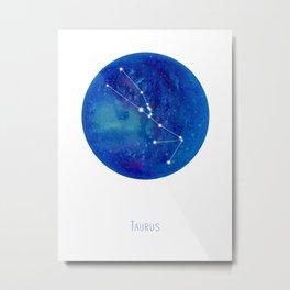 Constellation Taurus Metal Print