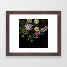 Pommes Verte Framed Art Print