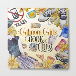 GG Book Club Metal Print