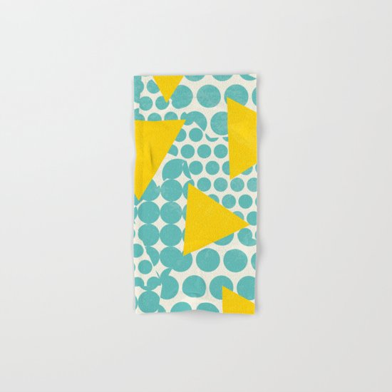 Dots and Triangles Hand & Bath Towel