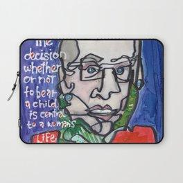 Justice Ruth Bader Ginsburg Laptop Sleeve