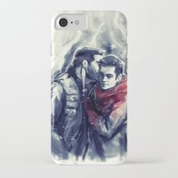 sterek iPhone & iPod Cases featuring sterek III by AkiMao