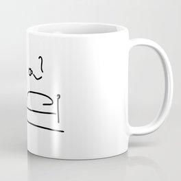ill bed cold tea Coffee Mug