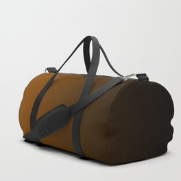 Black and Orange Gradient 050 Duffle Bag
