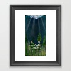 Stone Siren Framed Art Print