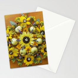 August Bounty Mandala Stationery Cards