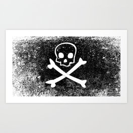 Jolly Roger Art Print
