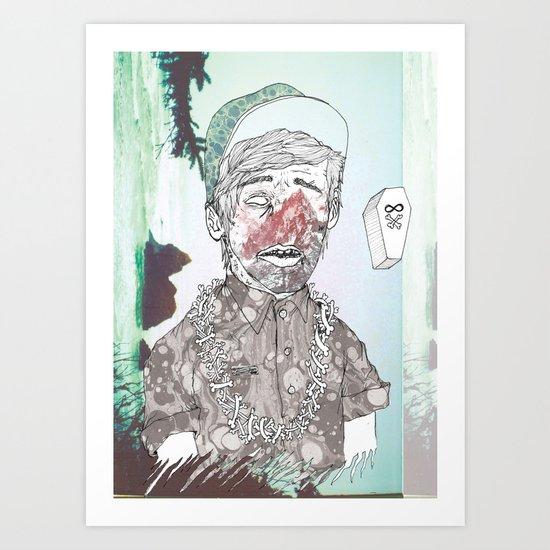 THE ETERNAL CHAMP Art Print